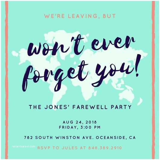 Farewell Party Invitation Wording Farewell Party Invitation – Gangcraft