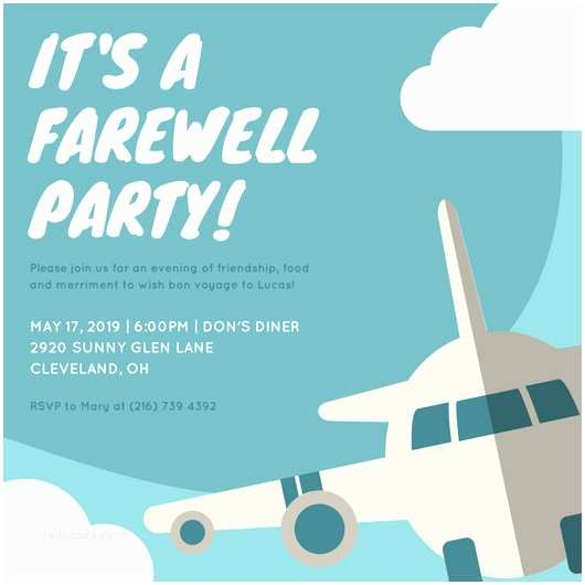 Farewell Party Invitation Wording for the Office Customize 3 998 Farewell Party Invitation Templates
