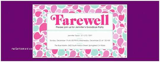 Farewell Party Invitation Wording for the Office Retirement Farewell Free Online Invitations