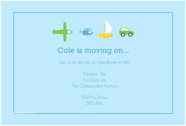 Farewell Party Invitation Wording Going Away Party Invitation Template