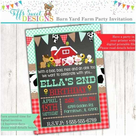 Farm Birthday Party Invitations Best 25 Farm Party Invitations Ideas On Pinterest