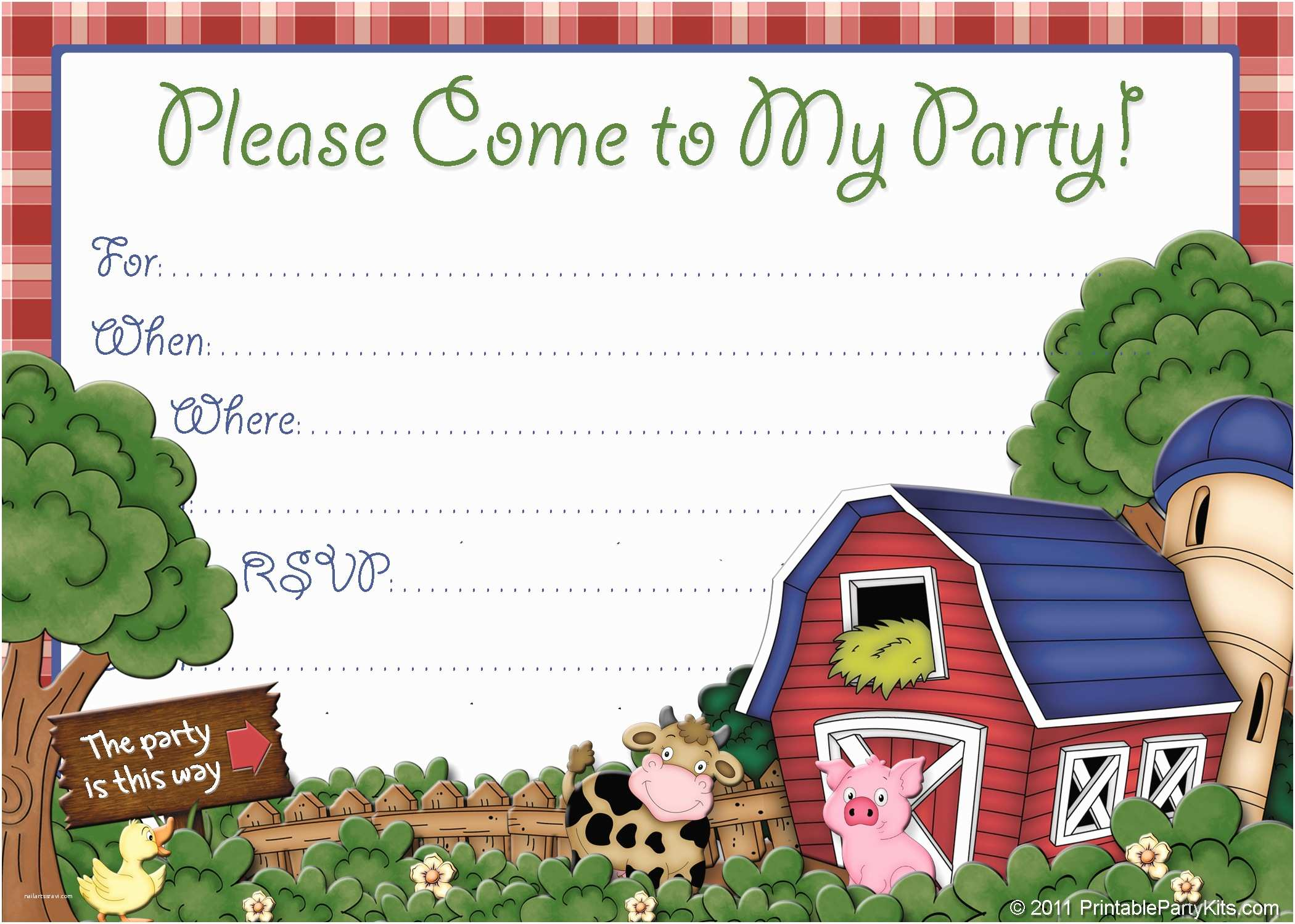 farm birthday party invitations and the invitations of the party invitation templates to the party sketch with cool idea 20