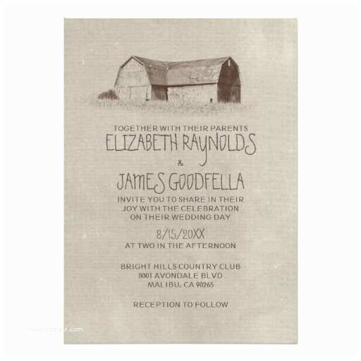Farm Wedding Invitations Farm Wedding Invitations