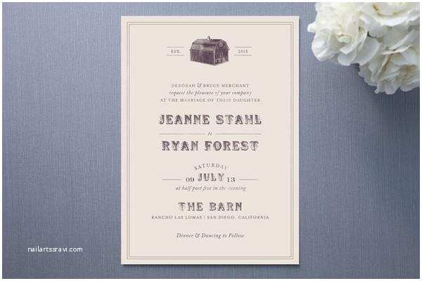 Farm Wedding Invitations Farm Wedding Invitations Rustic Wedding Chic
