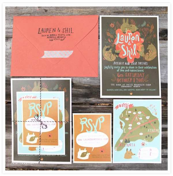 Farm Wedding Invitations Whimsical Diy Farm Wedding In Georgia Lauren Shil