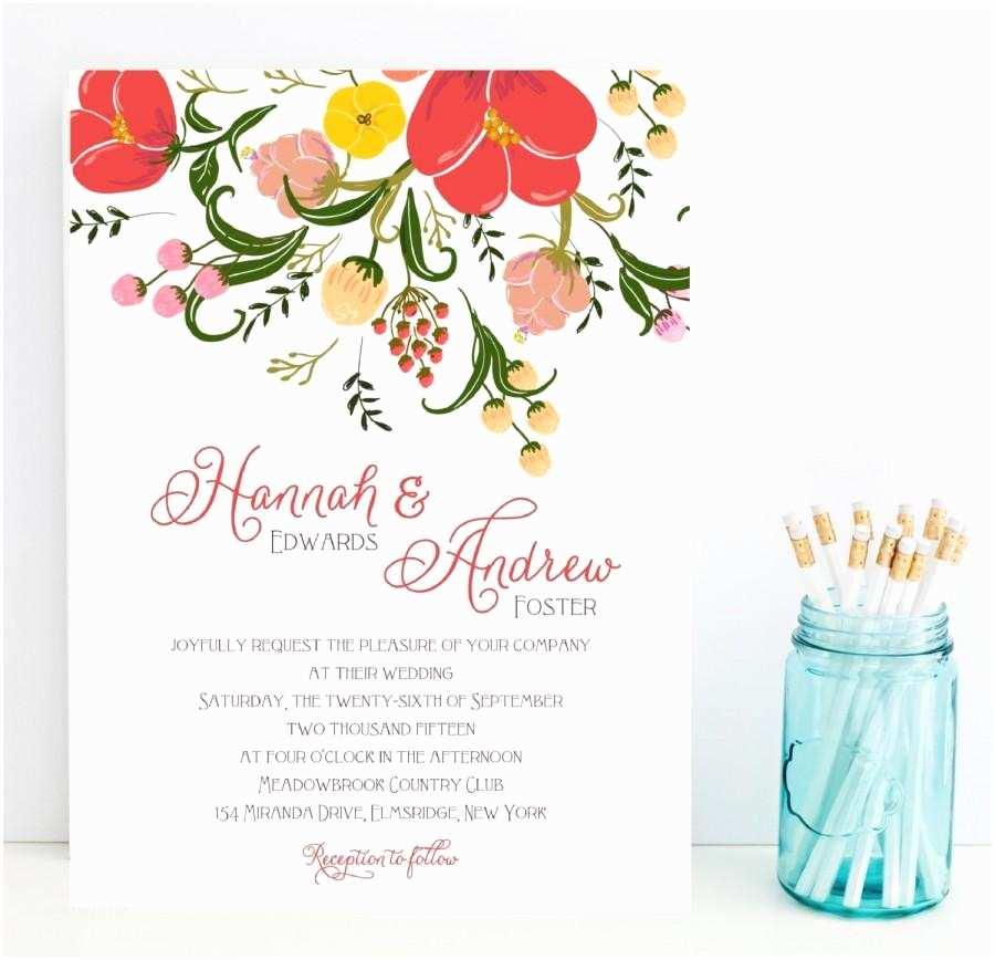 Fast Wedding Invitations Fast Wedding Invitations Flower Floral