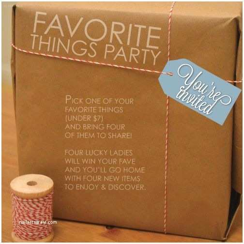 Favorite Things Party Invitation 25 Best Ideas About Favorite Things Party On Pinterest