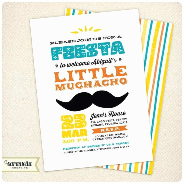 Fiesta Baby Shower Invitations 22 Best Baby Shower Fiesta Images On Pinterest