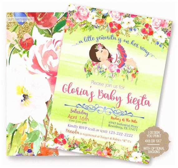 Fiesta Baby Shower Invitations Items Similar to Fiesta Baby Shower Fiesta Mexican Baby