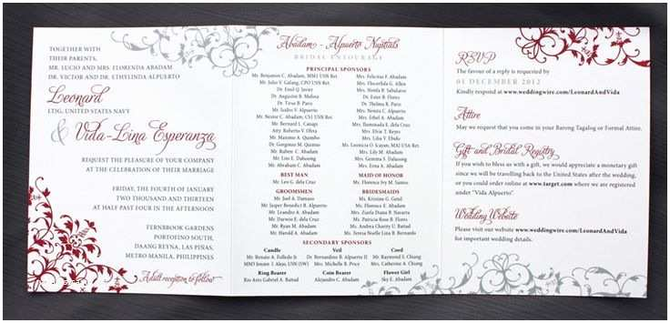 Filipino Wedding Invitation Sample 1000 Images About Card Designs On Pinterest