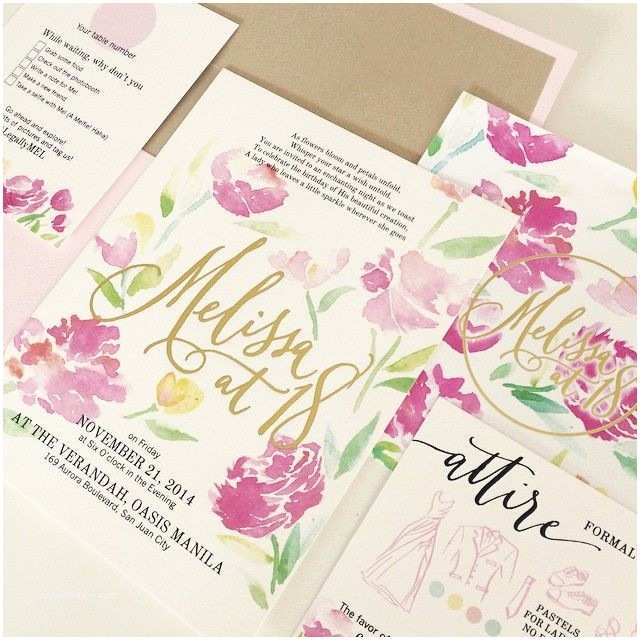 Filipino Wedding Invitation Sample 7 Best Images About Wedding Invitations On Pinterest