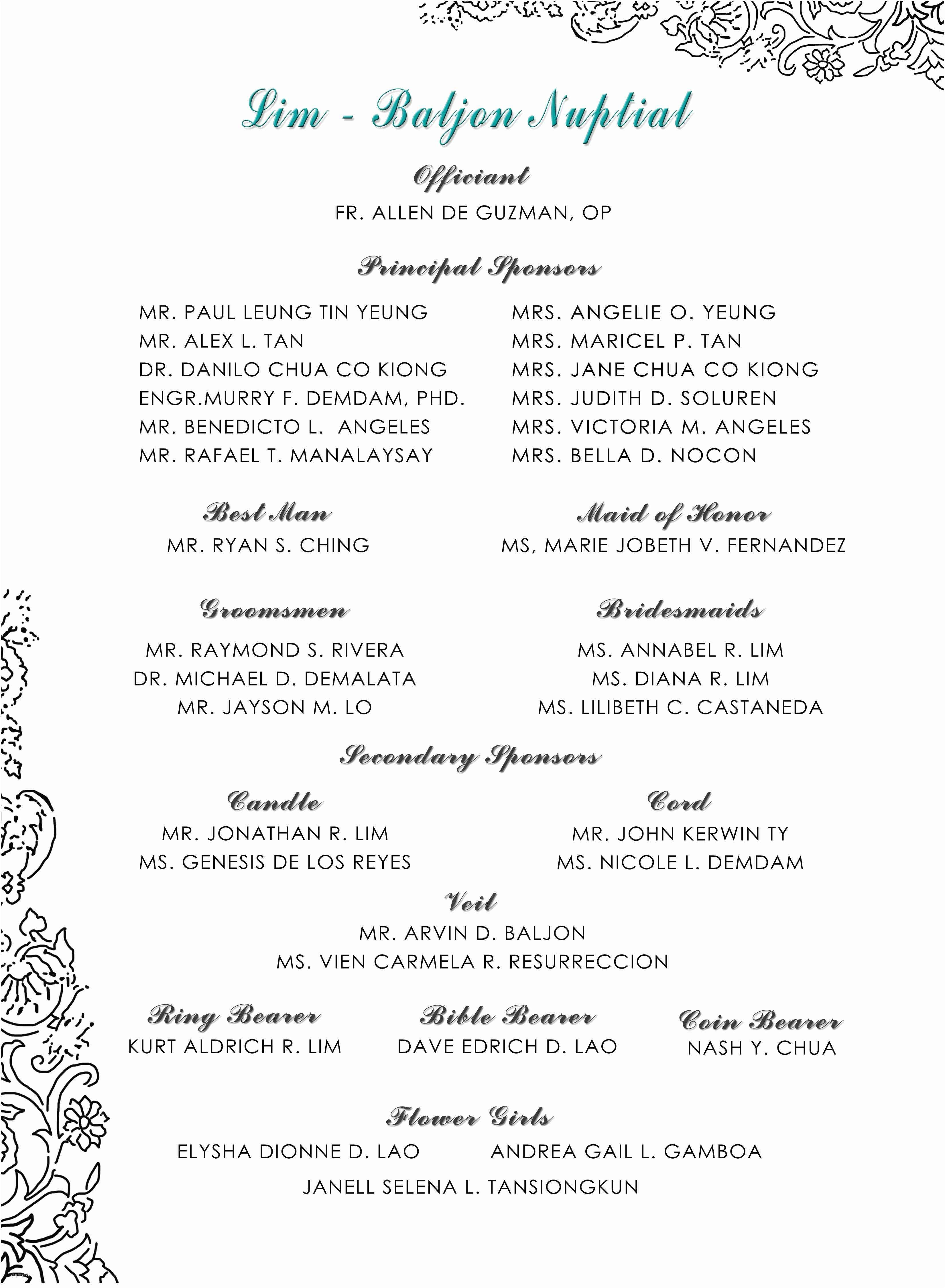 Filipino Wedding Invitation Sample Sample Wedding Invitation Cards In the Philippines