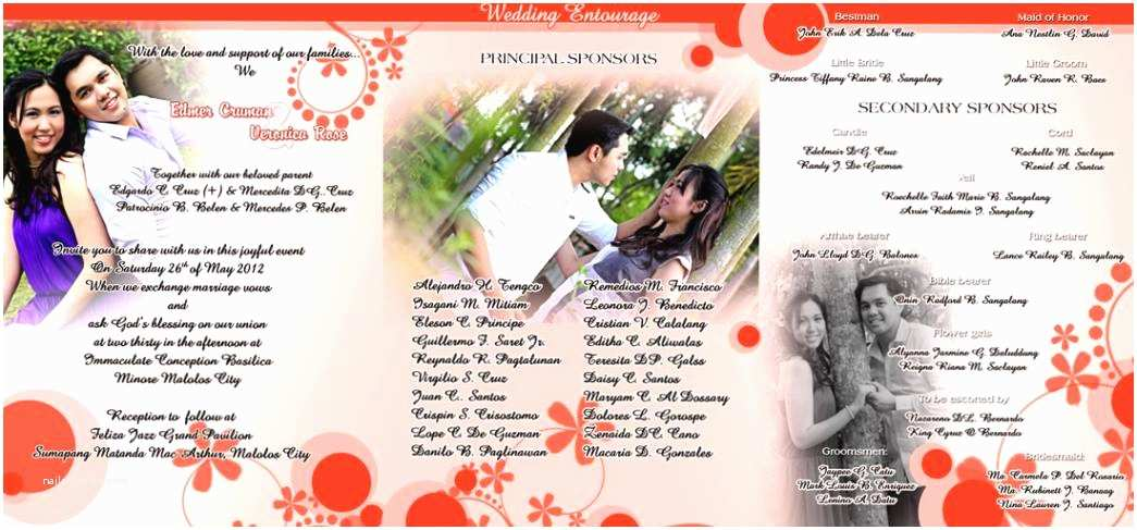 Filipino Wedding Invitation Sample Philippines