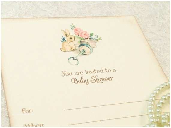 Fill In Baby Shower Invitations Fill In Blank Baby Shower Invitations Baby Boy or Baby Girl