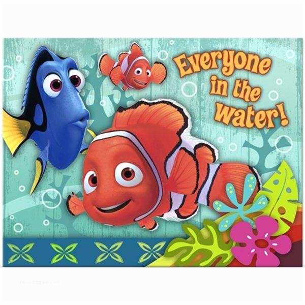 Finding Nemo Birthday Invitations Disney Pixars Finding Nemo Party Invitations Party