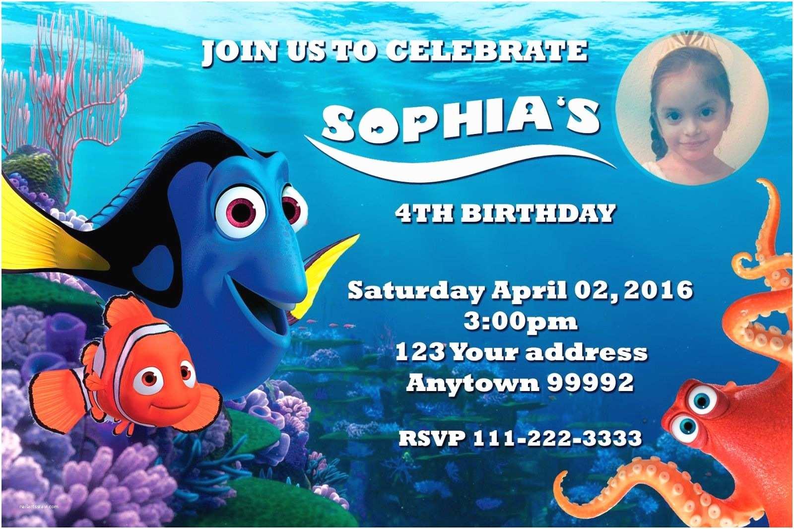 Finding Nemo Birthday  Finding Nemo Birthday Party