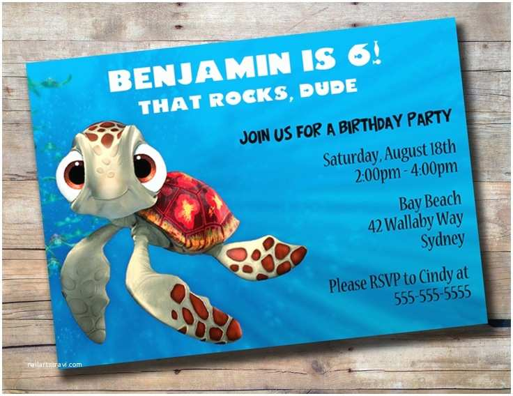 Finding  Birthday Invitations Squirt Birthday Invitation Finding