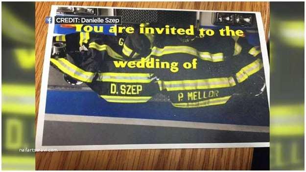 Firefighter themed Wedding Invitations Garfield N J Firefighters Upset at Wedding Invite