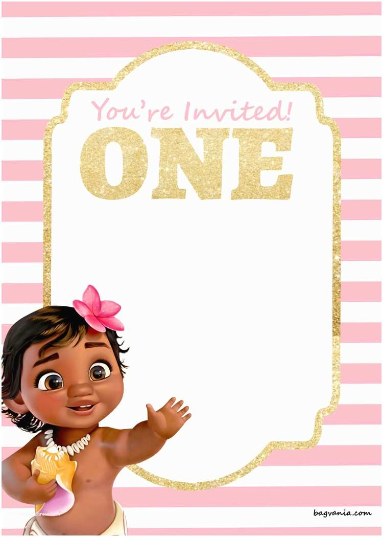 First Birthday Invitation Free Printable Disney Princess 1st Birthday Invitations