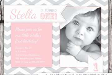 First Birthday Invitation Quotes For 1st Invitations