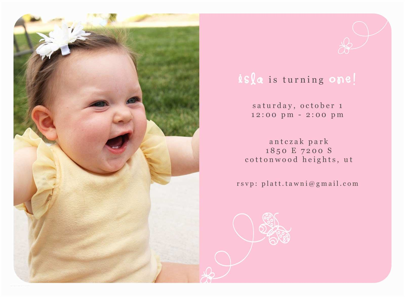 First Birthday Invitation Quotes for 1st Birthday Invitations Quotesgram