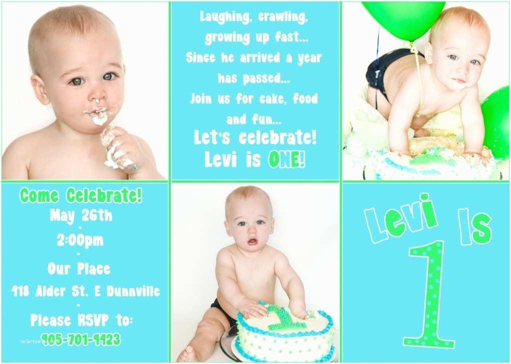 First Birthday Invitations Boy First Birthday Invitations for Boys and Girls