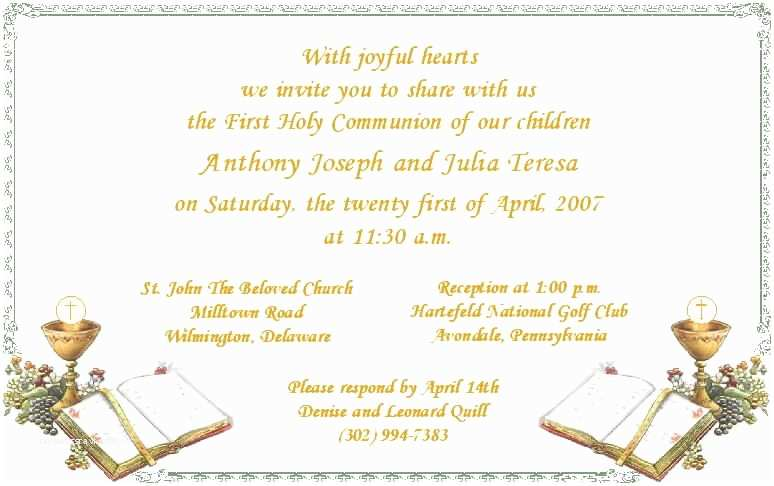 First Communion Invitation Wording Incredible Ideas First Munion Invitation Cards