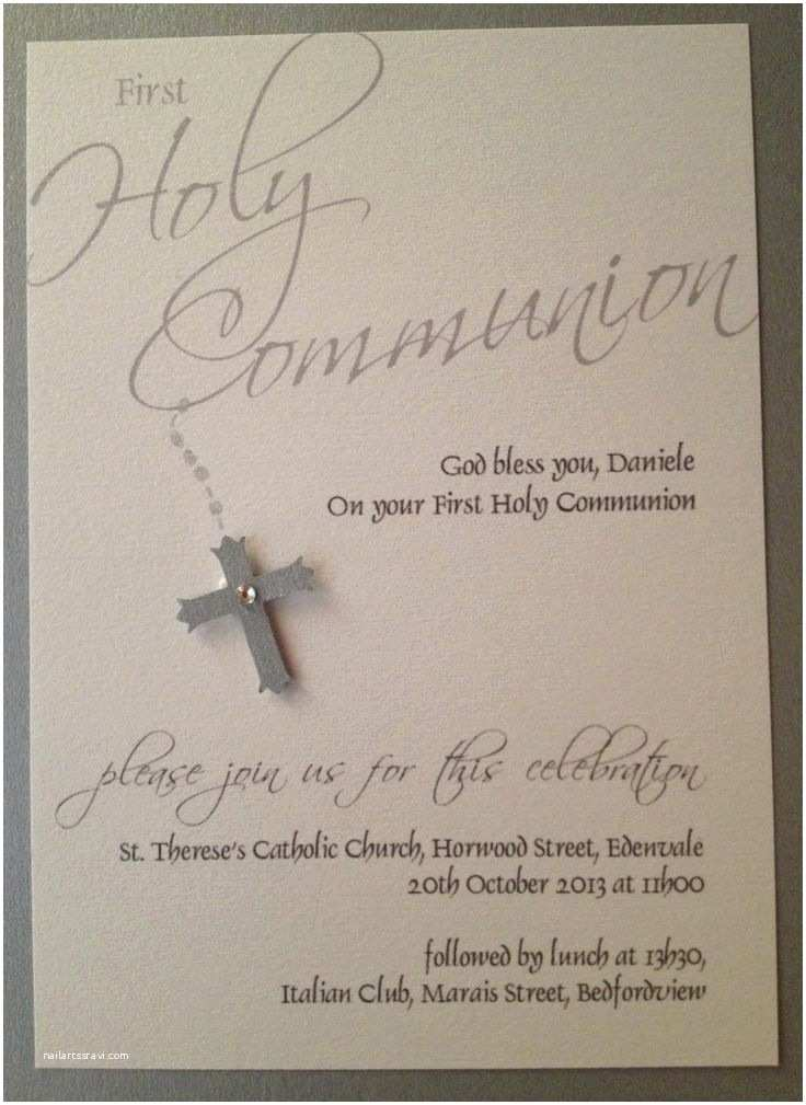 First Communion Invitations Best 25 Holy Munion Invitations Ideas On Pinterest