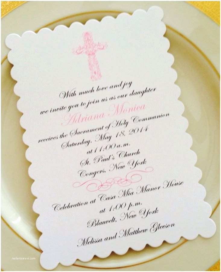 First Communion Invitations Best 25 Munion Invitations Ideas On Pinterest