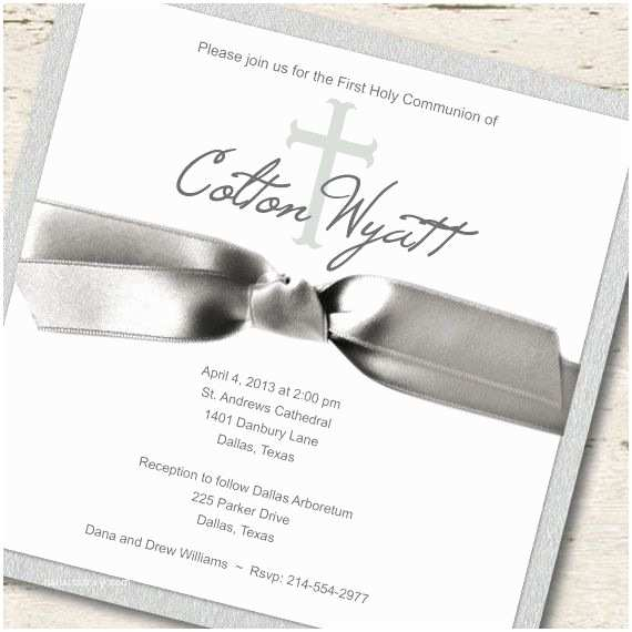 first munion invitations