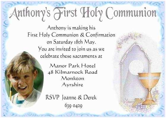 First Holy Communion Invitations Holy Munion Invitation – orderecigsjuicefo