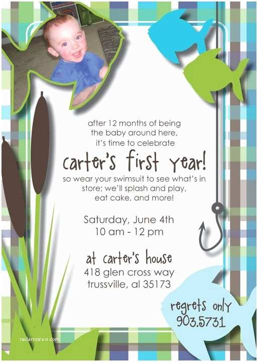 Fishing Birthday Party Invitations 57 Best Images About Fishing Party Ideas On Pinterest