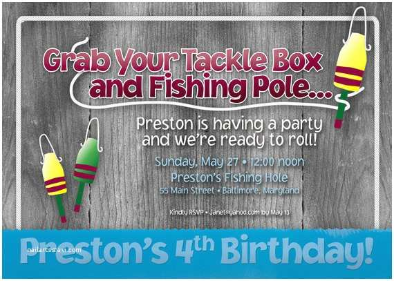 Fishing Party Invitations Unavailable Listing On Etsy