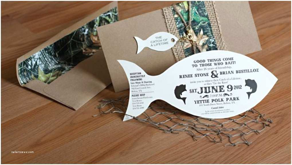 homemade fishing birthday party invitations