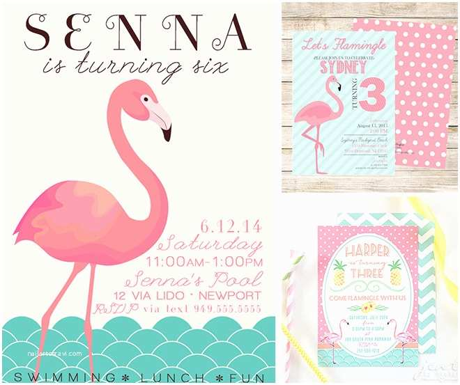 Flamingo Party Invitations 20 Essentials for A Fab Flamingo Party