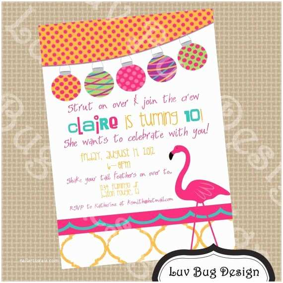 Flamingo Party Invitations 95 Best Images About Flamingo Birthday Party On Pinterest