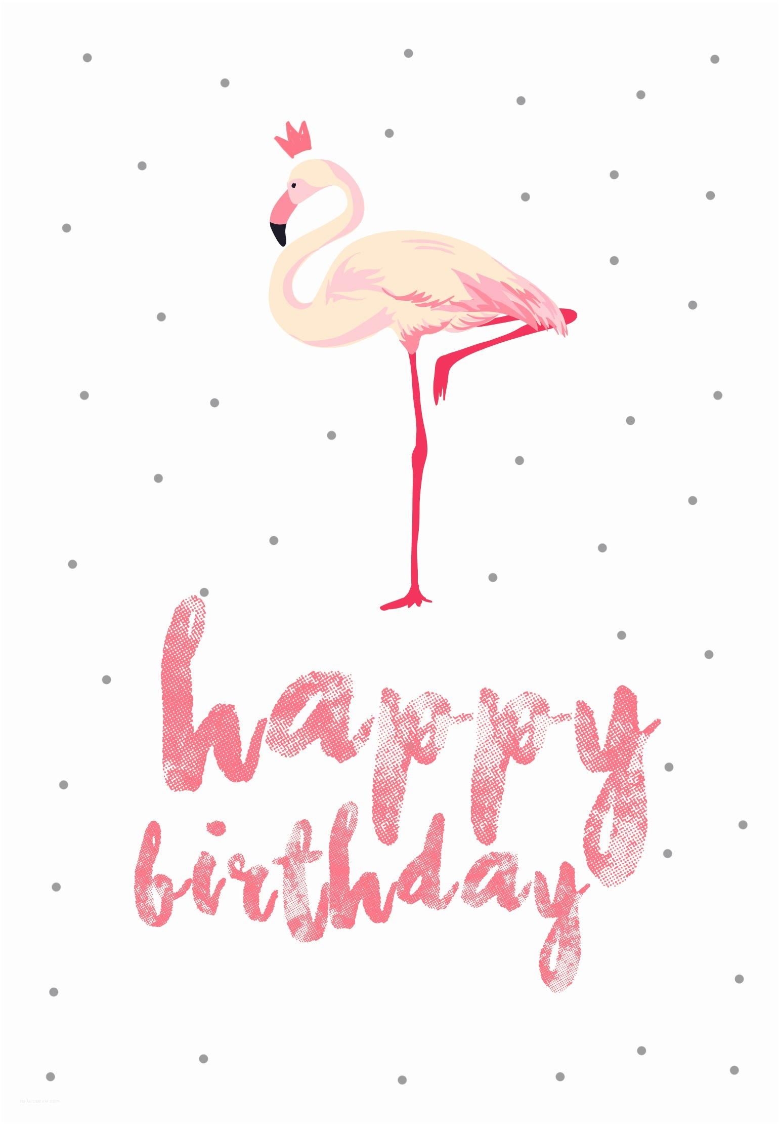 Flamingo Party Invitations Flamingo Birthday Free Printable Birthday Card