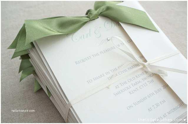 Flip Book Wedding Invitation Sage Green Flip Invitation the Little touches