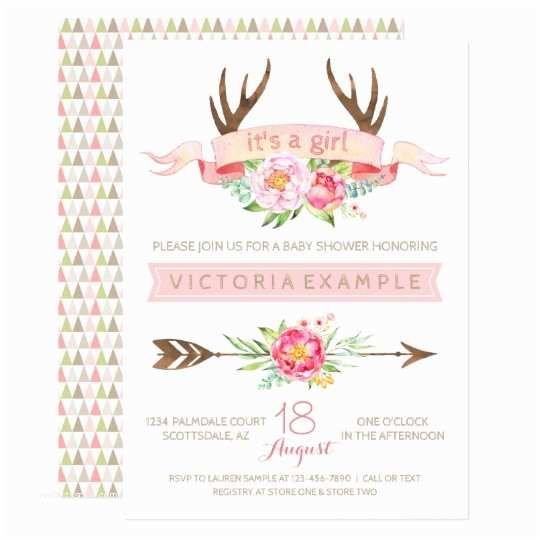 Floral Baby Shower Invitations Baby Shower Invitations &