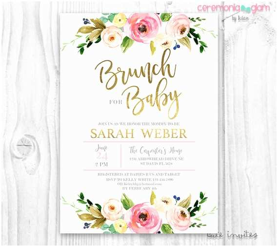 Floral Baby Shower S Floral Baby Shower  Brunch For Baby