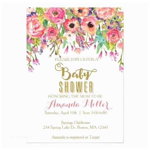 Floral Baby Shower  Floral Baby Shower