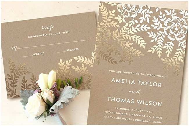 Foil Pressed Wedding Invitations Foil Pressed Invitations From Minted A Giveaway