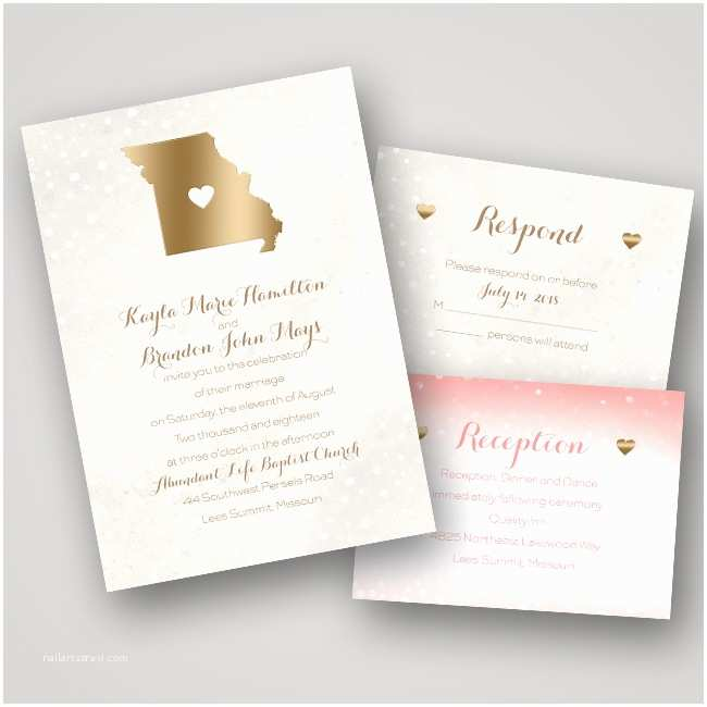 Foil Pressed Wedding Invitations Wedding Invitation Ideas Foil Pressed Invitations