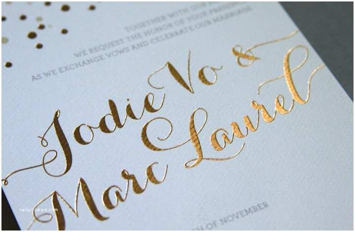 Foil Pressed Wedding Invitations Wedding Invitations 101 All Your Questions Answered