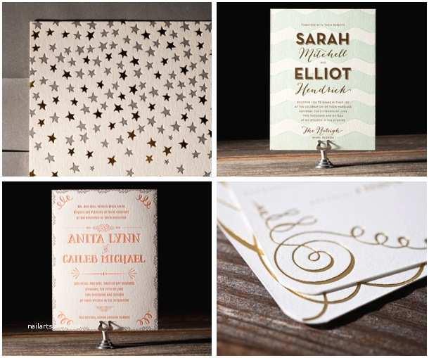 Foil Stamped Wedding Invitations 2013 Wedding Trends Foil Stamped Invitations
