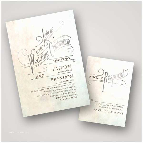 Foil Stamped Wedding Invitations Hot Trend Foil Stamped Wedding Stationery From