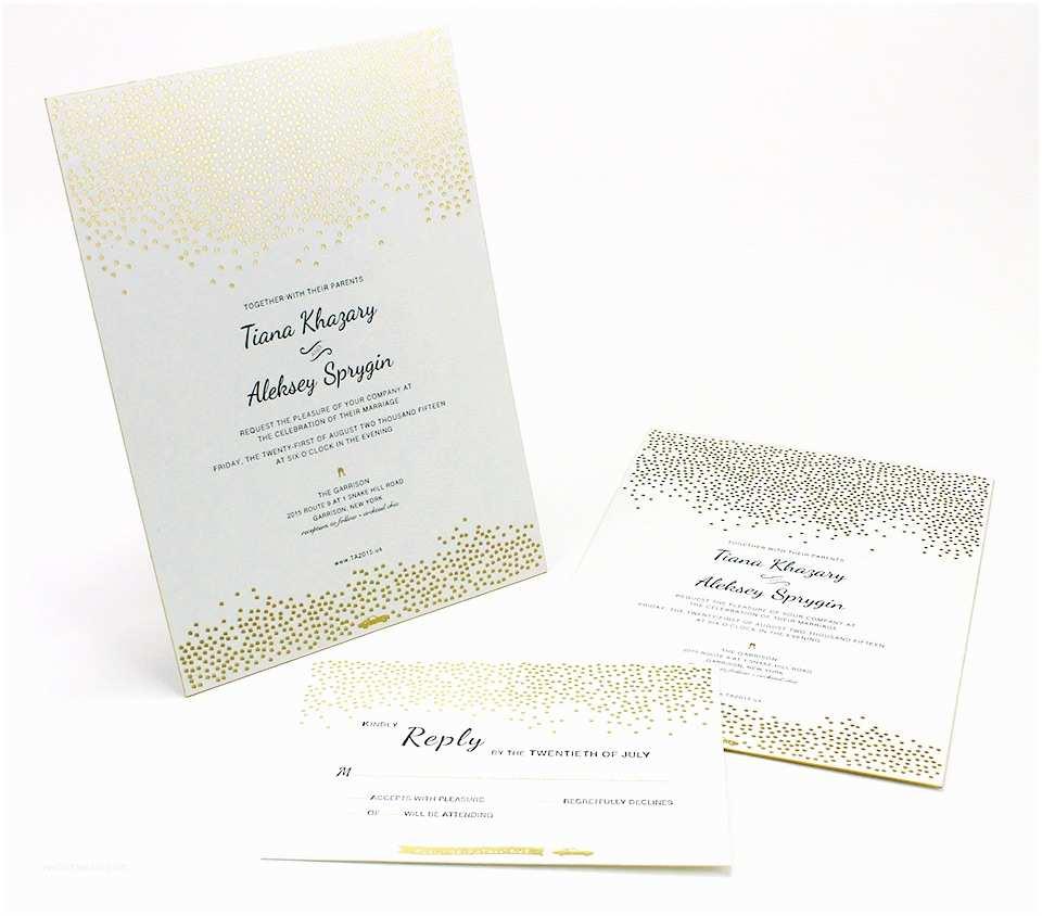 Foil Stamped Wedding Invitations Letterpress & Foil Stamped Invitations Graphcon