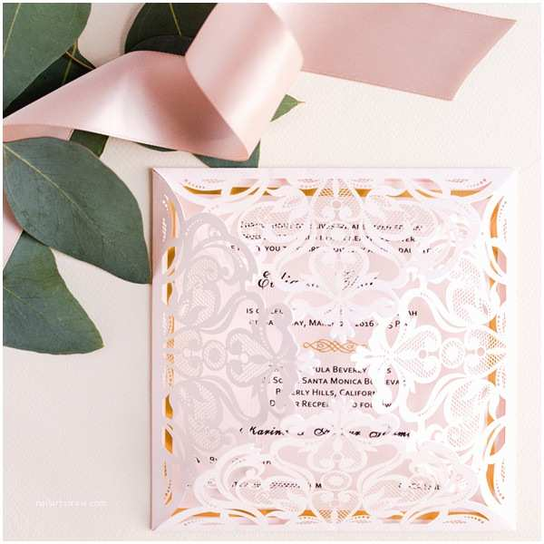 Foil Wedding Invitations Cheap Affordable Wedding Invitations with Response Cards at