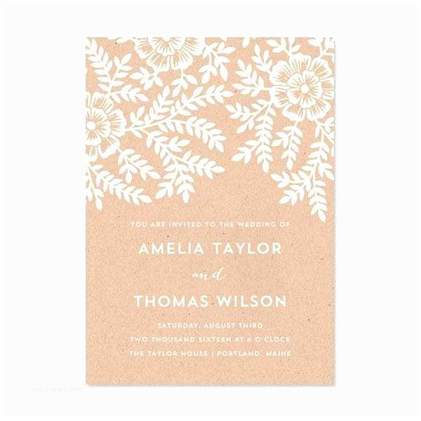 Foil Wedding Invitations Cheap Foil Wedding Invitations Bined with Simple Flat Card