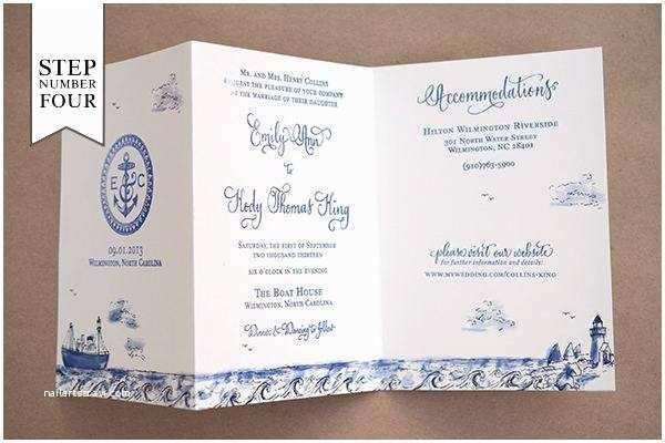 Fold Out Wedding Invitations Diy Tri Fold Wedding Invitations A Birthday Cake